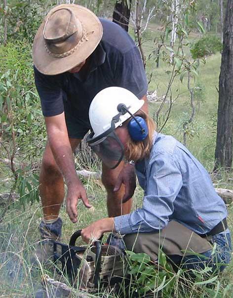 Programm Bezahlte Rancharbeit Australien