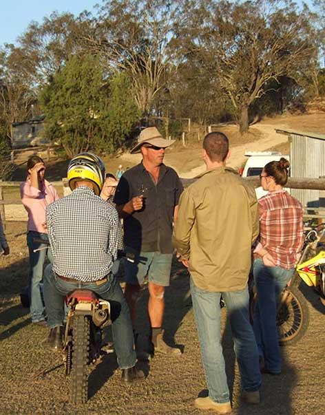 Trainingsfarm in Australien