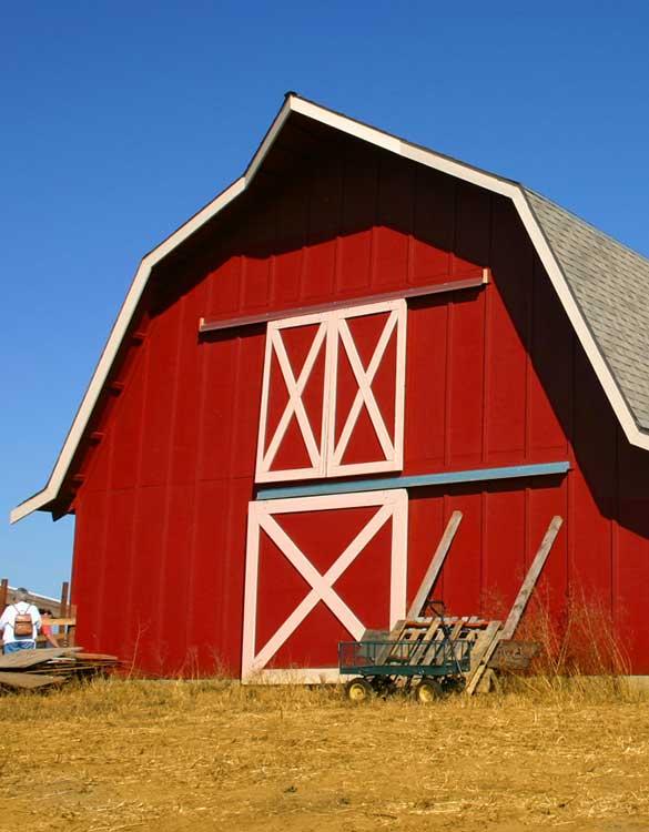 Farm-Scheune