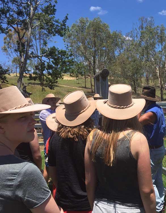Gruppe von Teilnehmern