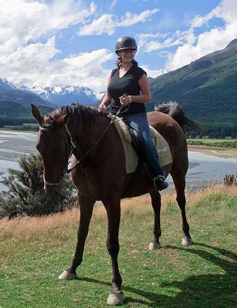 Farmstay Reiterin in Neuseeland