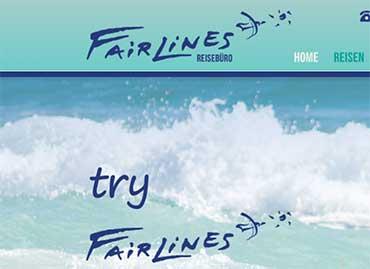 Fairlines für Flüge
